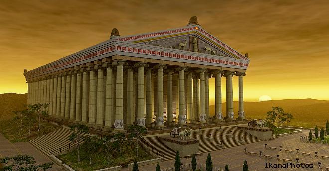Сожжение храма Геростратом