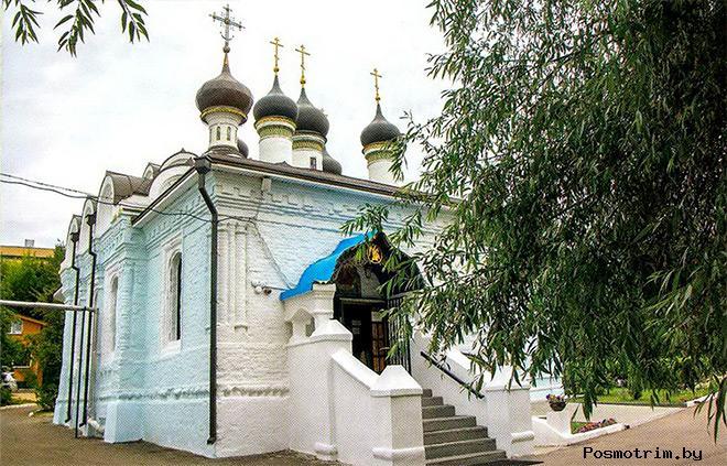 Архитектура храма Покрова Пресвятой Богородицы в Братцеве