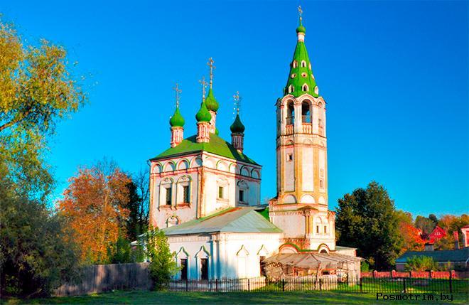 Троицкая церковь Серпухов что на Посаде