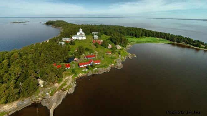 Строительство Крестного монастыря