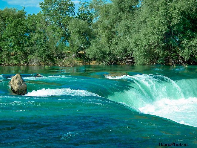 Расположение водопада Манавгат, как добраться, время работы, стоимость посещения
