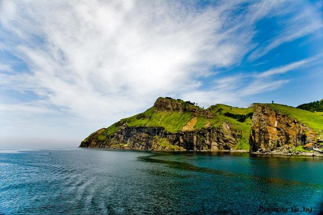 Остров Шикотан Куриллы