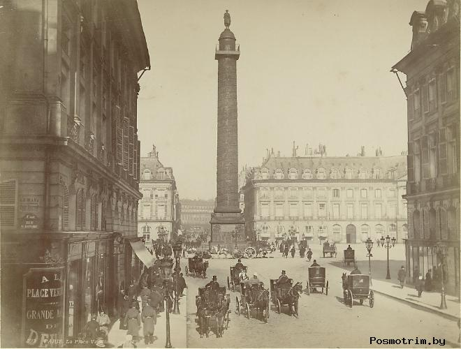 История Вандомской площади в Париже