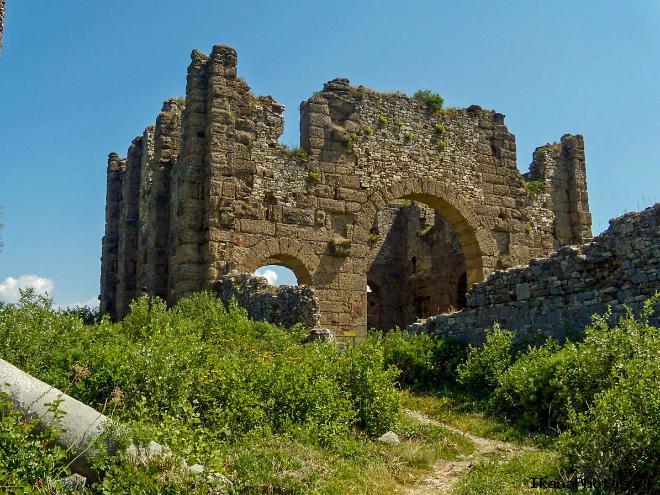 Расположение древнего города Аспендос на карте Турции как добраться самостоятельно в Аспендос