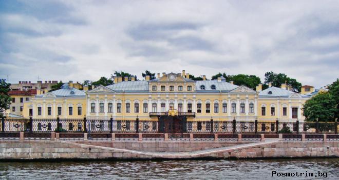 Фонтанный Дом (Шереметевский дворец) Санкт-Петербург
