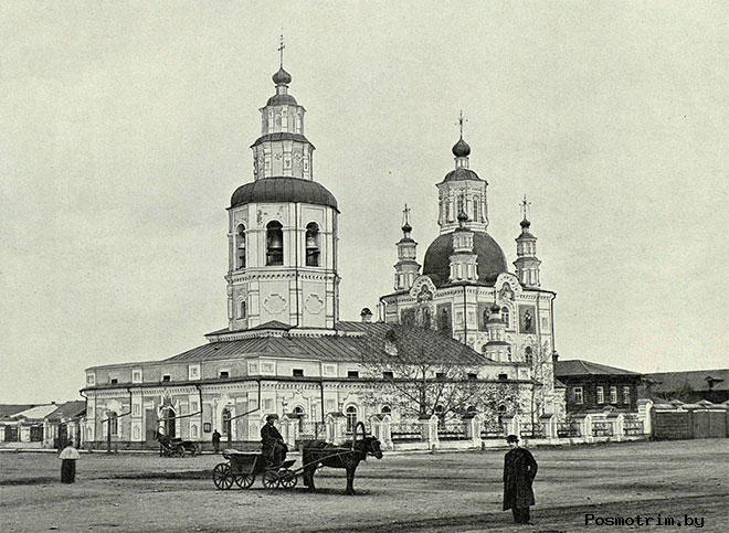 Архитектура Покровской церкви Красноярска