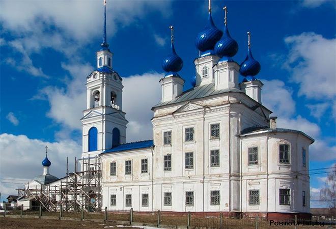 Покровская церковь Шунга