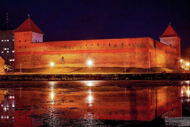 Лидский замок Гедемина архитектура и стиль укрепления