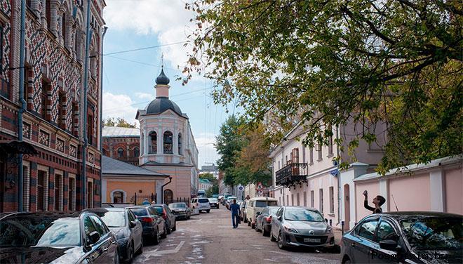 Крапивенский переулок Москва