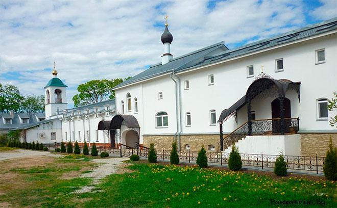 Восточный келейный корпус Снетогорского монастыря