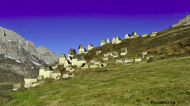 Город Мертвых, Северная Осетия, Россия