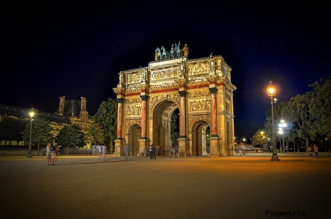 Архитектура Триумфальной арки на площади Каррузель или плагиат по французски