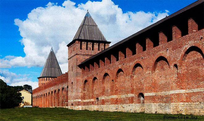 Смоленская крепость - Смутное время и Смоленская война