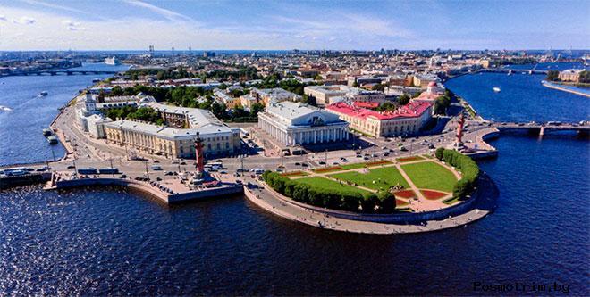 Васильевский остров Санкт-Петербург достопримечательности фото