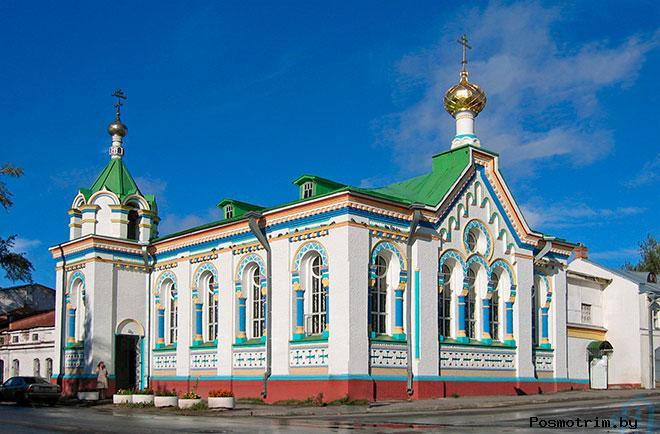 Никольский храм Архангельск