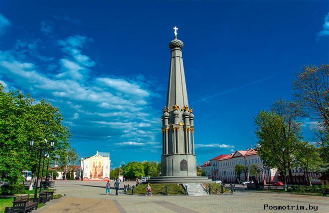 Площадь Свободы в Полоцке