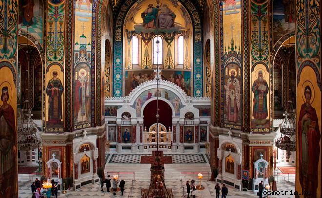 Интерьер Вознесенского собора Новочеркасска