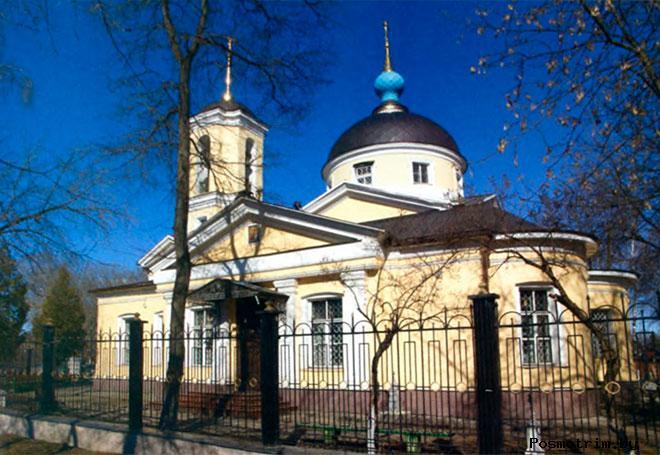 Храм Косьмы и Дамиана в Болшево