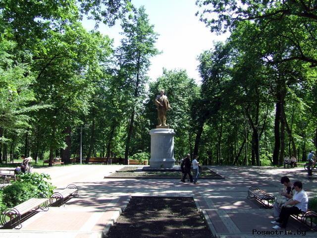 Верхний парк Липецк