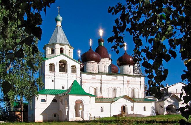 Обустройство Антониево-Сийского монастыря