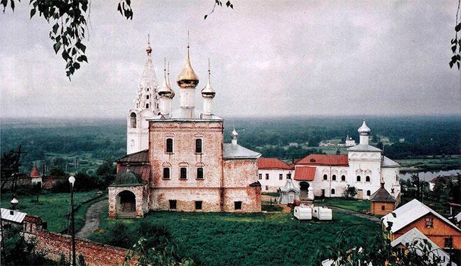 Никольский монастырь Гороховец история