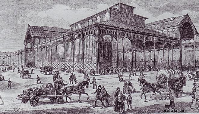 История церкви Сент-Эсташ в Париже