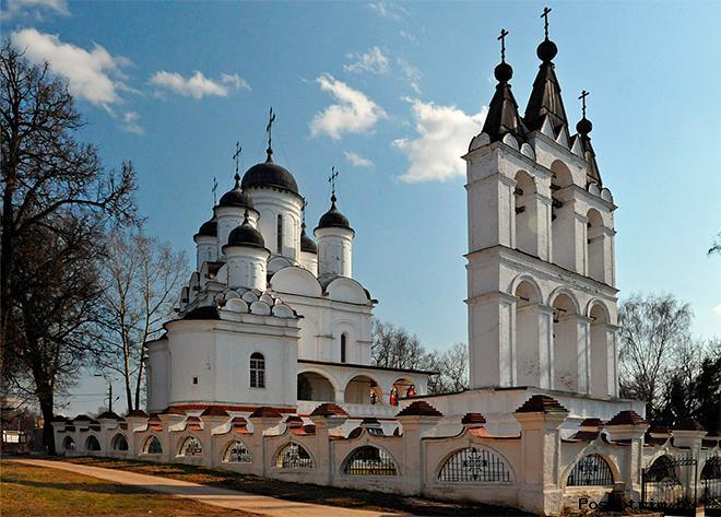 Спасо-Преображенский храм Большие Вяземы Московская область