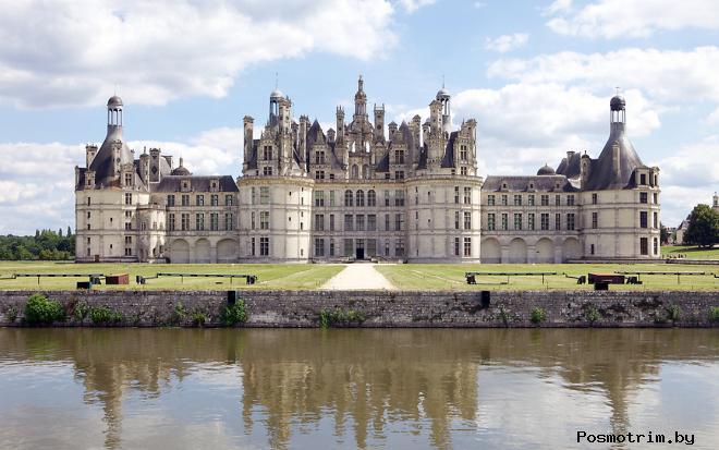 Замок Шамбор Франция долина Луары замок XVI в