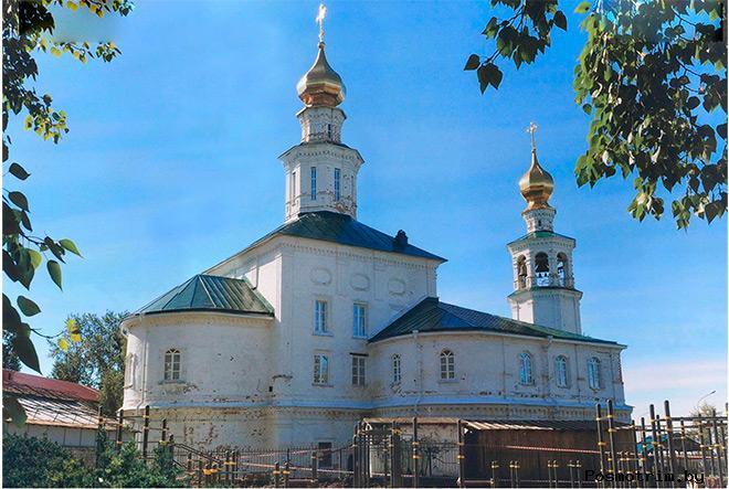 Троицкий храм Архангельск