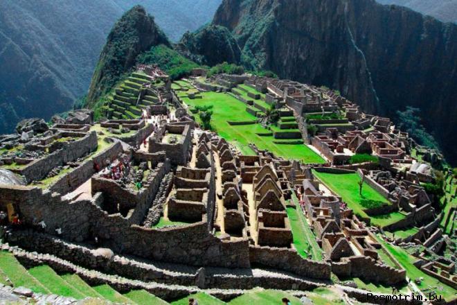Город Мачу-Пикчу Перу
