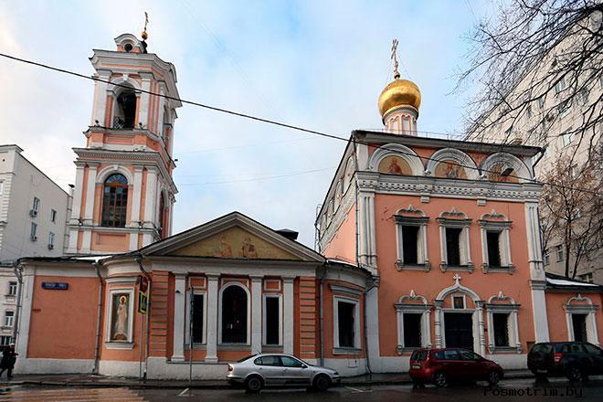 Храм Воскресения Словущего на Успенском Вражке Москва