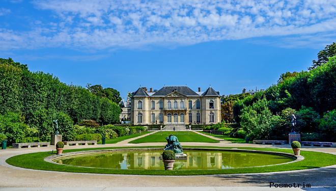 Расположение музея Родена