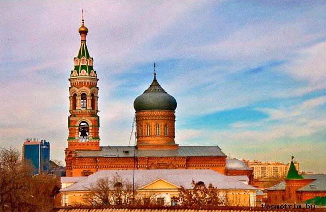Казанский собор Астрахань