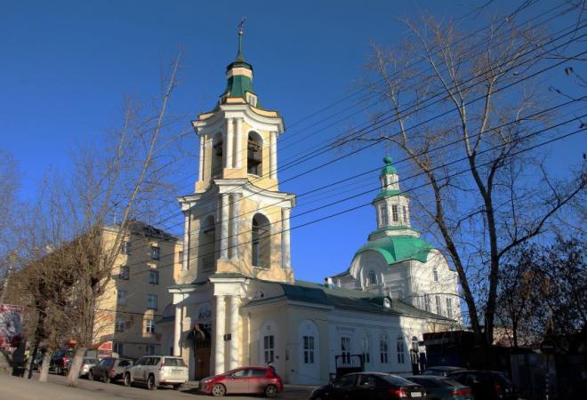Знаменский храм Кирова