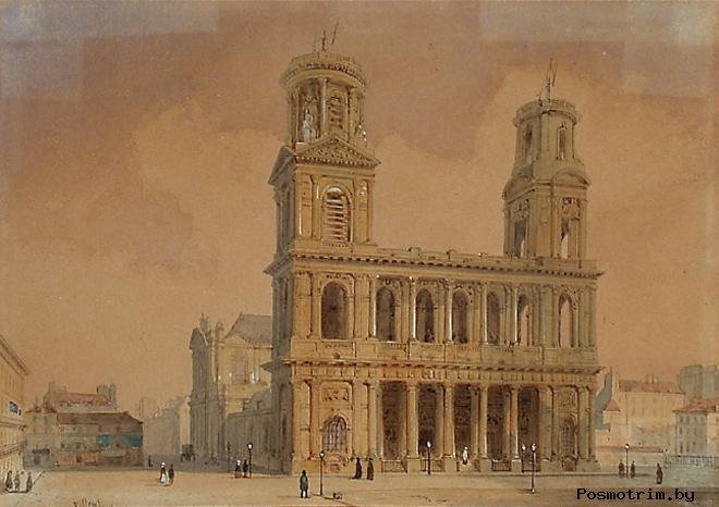 История церкви Святого Сульпиция (Сен-Сюльпис)