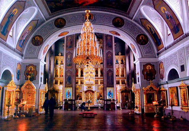 Собор Воскресения Христова Шуи внутри