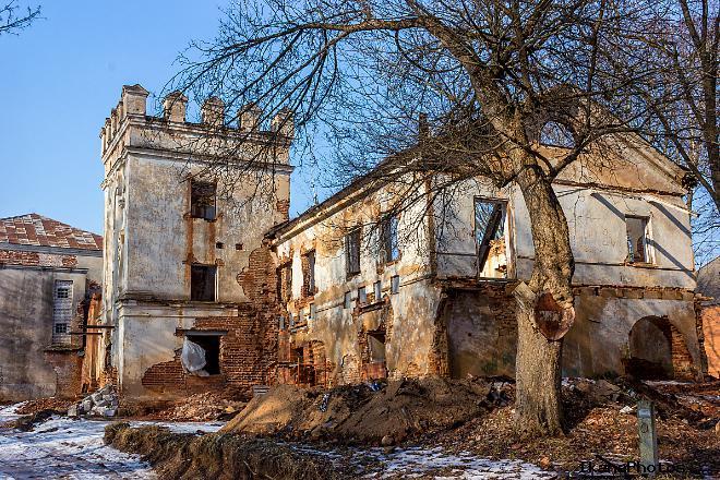 Усадьба в Смиловичах - Дворец Монюшко-Ваньковичей