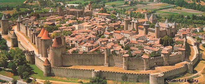 Город-крепость Каркассон Франция