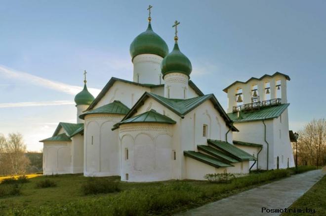 Церковь Богоявления в Бродах (с Запсковья) Псков