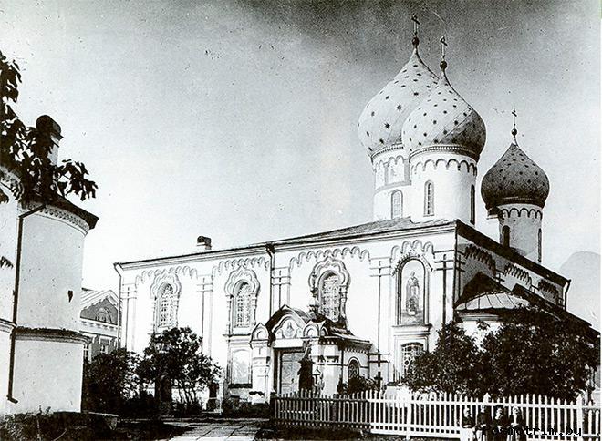 Введенский монастырь Тихвин