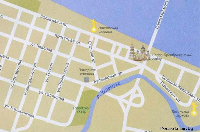 Преображенский собор Рыбинск богослужения график работы контакты как добраться расположение на карте