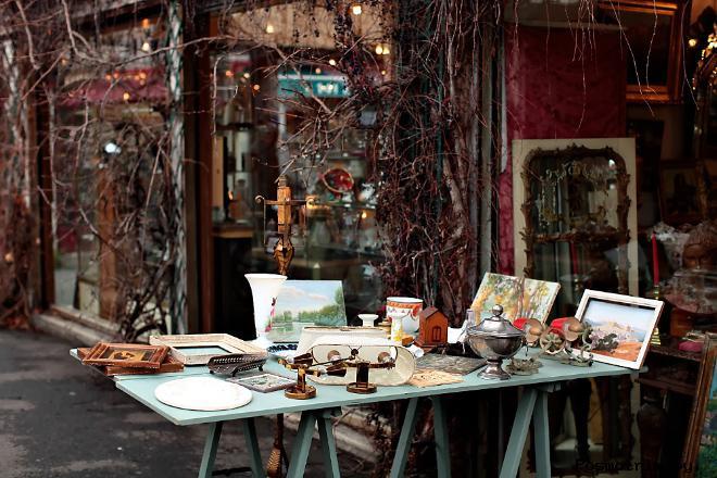 Рынок Порт-де-Ванв Marché de Vanves