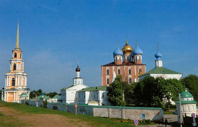 Храмы Рязанского кремля