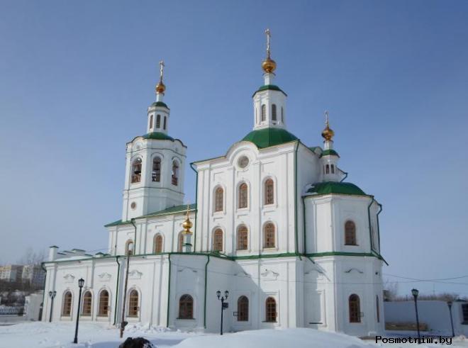 Георгиевская церковь Тюмень