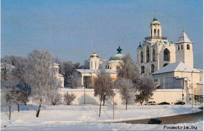 Спасо-Преображенский монастырь Ярославля краткая история