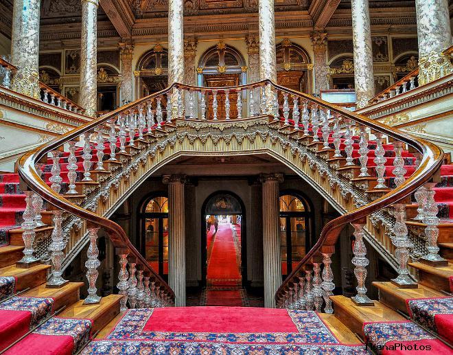 Долмабахче дворец музей два маршрута экскурсий