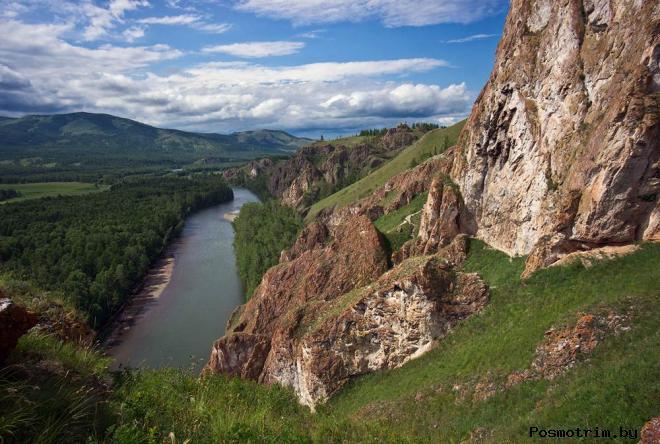 Долина реки Белый Июс вход в другую реальность