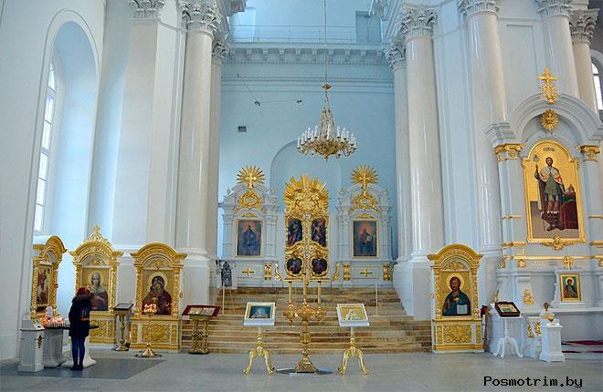 Интерьеры Смольного собора