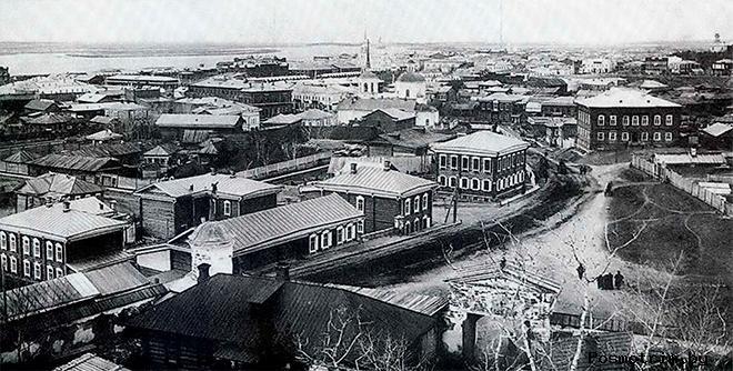 Томск архитектурная прогулка по старому городу