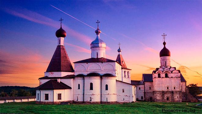 Ферапонтов монастырь Вологодская обл